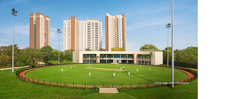 Lodha Upper Thane - Cricket Field