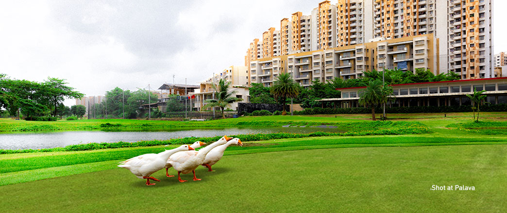 Open & Green Spaces at Palava City