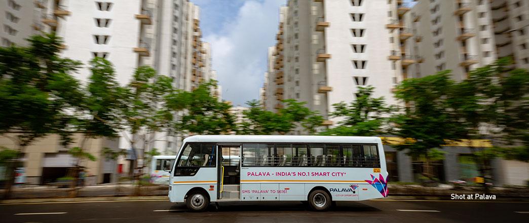 The Palava shuttle Bus
