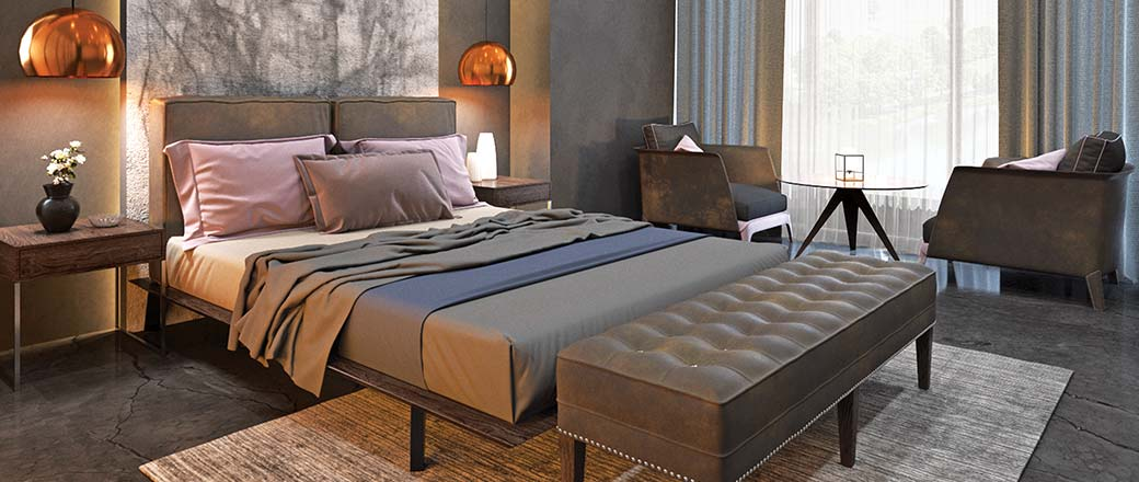 Lodha Serenity - Master Bedroom