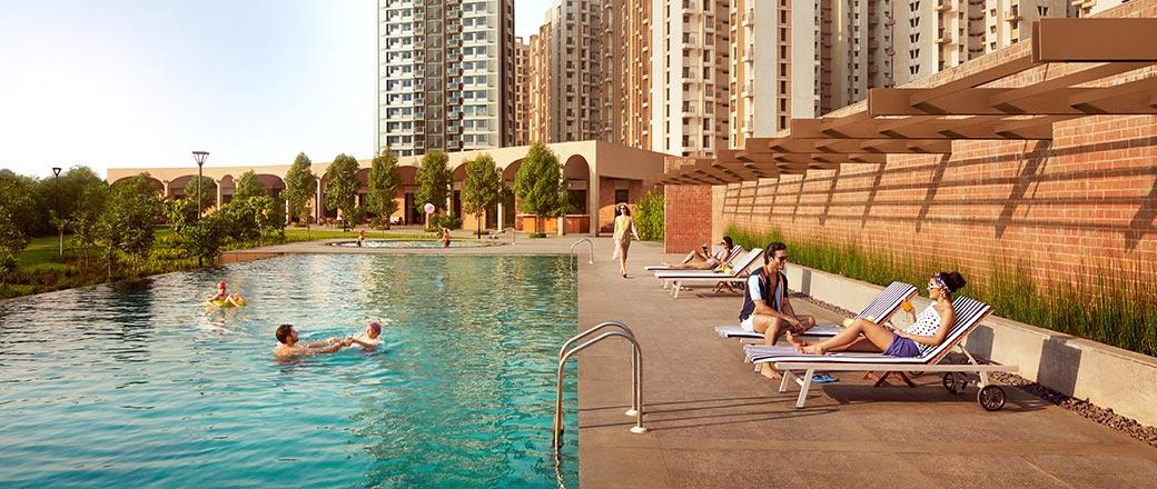 Lodha Serenity - Pool Side Deck