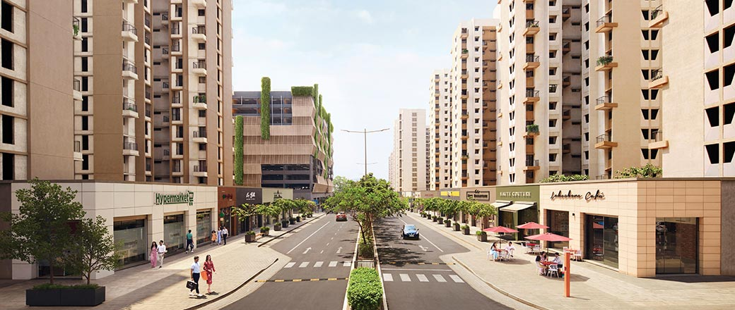 Central Avenue at Lodha Serenity