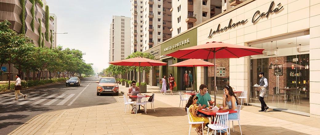 Lodha Serenity - Shopping Street