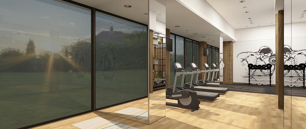 Gym at Lodha Serenity