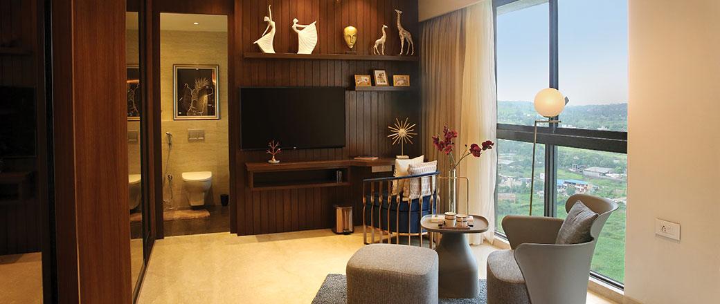 Lodha Serenity - Grand Living Room
