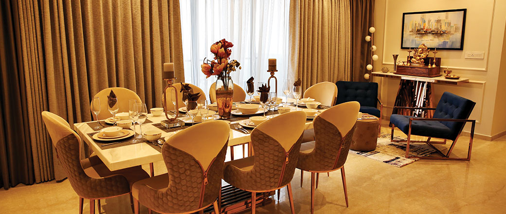 Lodha Serenity - Dining Room