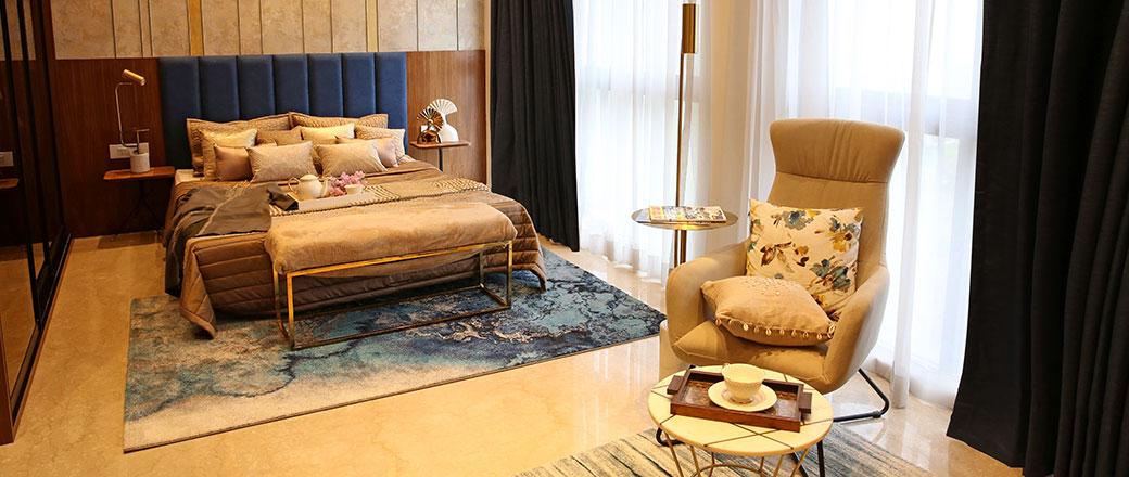 Lodha Serenity - Super Sized Bedroom