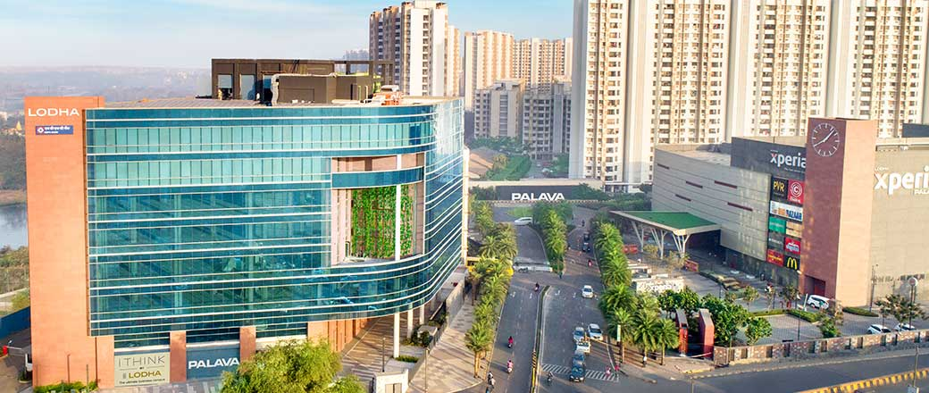 Lakeshore Greens - iThink by Lodha with companies like HDFC Bank